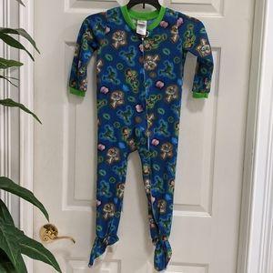 Disney Pixar Toy Story 3 Footed Pajamas Size 4T